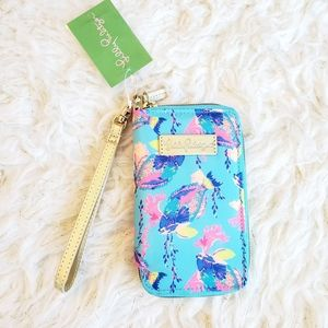 NWT Lilly Pulitzer Wristlet Wallet